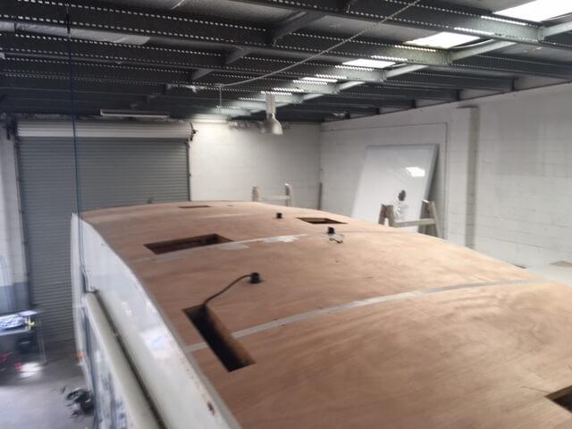 Job 6 - 5TH Wheeler roof membrane